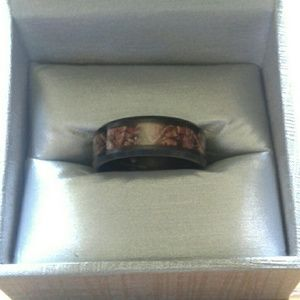 Other - Mens camo wedding band FINAL PRICE